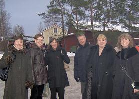 Et lille udvalg af deltagere i årets NCK-referencegruppemøde