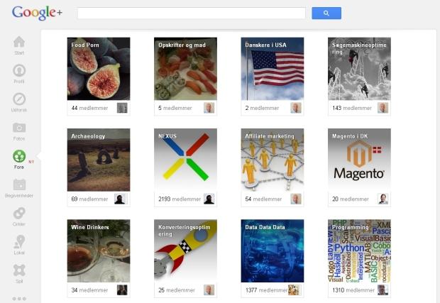 google-plus-grupper