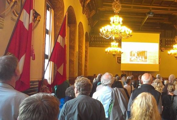 Gamle København-træf på Københavns Rådhus. Tak til Jakob Ingemann Parby for fotografiet!